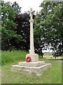 TG2303 : Caistor St. Edmund War memorial by Adrian S Pye