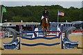 SJ4956 : Bolesworth International Horse Show: Castle Arena by Jonathan Hutchins