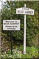 SD3695 : Signs, Near Sawrey by Ian Capper