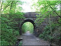 NY2824 : Bridge over former Keswick Railway line by Gareth James