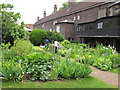 TQ3383 : Mid-late Victorian town garden, Geffrye Museum by David Hawgood