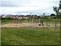 NZ3557 : Children's playground, South Hylton by Oliver Dixon
