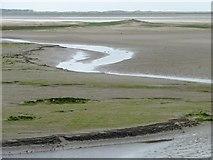 SH5738 : Inter-tidal land below the Cob, Glaslyn estuary by Christine Johnstone