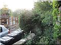 SE2228 : Overgrown footpath off Wakefield Road, Adwalton by Stephen Craven