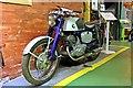 SJ3289 : 1964 Honda CB92 motorbike, Wirral Transport Museum, Birkenhead by El Pollock