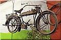 SJ3289 : Douglas motorcycle, Wirral Transport Museum, Birkenhead by El Pollock