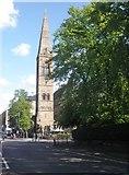 NS5667 : Former church, Kelvinside by Roger Cornfoot