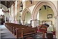 TM1877 : St Peter & St Paul, Hoxne - South arcade by John Salmon