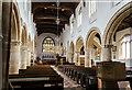 TF0919 : Interior, Ss Peter & Paul church, Bourne by Julian P Guffogg