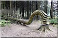 SD8240 : Pendle Sculpture Trail: Reconnected 1 by Graham Hogg