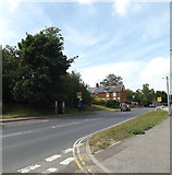 TM3877 : A144 Norwich Road, Halesworth by Adrian Cable