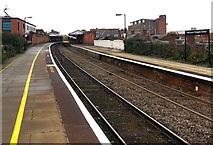 SO8555 : Worcester Foregate Street railway station by Jaggery