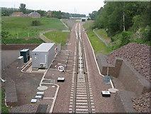 NT3267 : Borders Railway at Sheriffhall by M J Richardson
