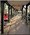 SX8274 : Walkway, Trago Mills by Derek Harper