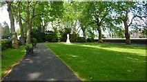 TQ2977 : Pimlico Garden & Shrubbery by Richard Cooke