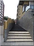 TQ7568 : Path to Chatham High Street by David Anstiss