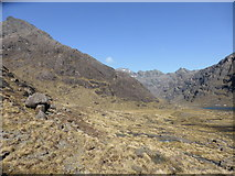 NG4820 : Rough ground by Loch Coruisk by David Medcalf