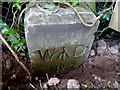 H4672 : WD No.2 boundary marker, Hospital Road, Omagh by Kenneth  Allen
