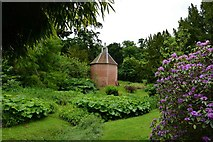 TL7835 : Hedingham Castle and Gardens: The dovecote by Michael Garlick
