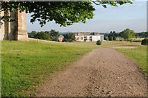 SO8845 : Entering Croome Park by Philip Halling