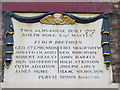 NZ2563 : Plaque on the building on the west side of Trinity House Yard by Mike Quinn