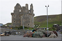 HU4039 : Scalloway Castle from Blacks Ness quay by Mike Pennington