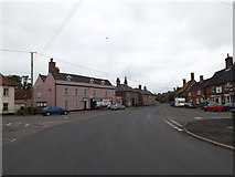 TM0386 : Market Place, Kenninghall by Adrian Cable