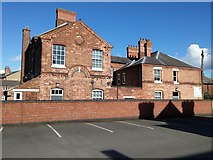 SK3516 : Ashby de la Zouch police station by Oliver Mills