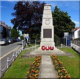 SN1846 : Cardigan War Memorial by Jaggery