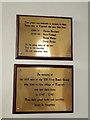 TM2692 : Topcroft War Memorial and Hardwick Airfield Memorial by Adrian S Pye