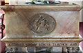 TQ3184 : St Mary Magdalene, Upper Holloway - Font bowl by John Salmon