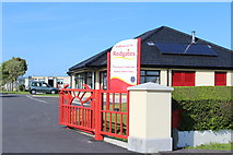 NS2107 : Redgates Holiday Park, Maidens by Leslie Barrie