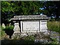 TL4909 : Tomb of Sarah Flower Adams in Foster Street Non-conformist Burial Ground by Marathon