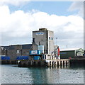 NK1345 : Icehouse, Peterhead South Harbour by Bill Harrison