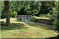 SP6305 : Weir in the Garden by Des Blenkinsopp