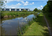 SK2222 : Trent & Mersey Canal towards Shobnall by Mat Fascione