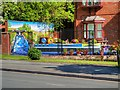 SD7807 : Bury in Bloom Floral Display next to the Canal at Water Street by David Dixon