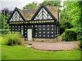 SD6230 : The Victorian Gate Lodge at Samlesbury Hall by David Dixon