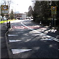 ST1282 : Start of the 30 zone at the northern edge of Morganstown, Cardiff by Jaggery
