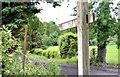 "J1853 : ""Footpath"" sign, Dromore (June 2015) by Albert Bridge"