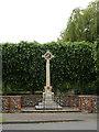TM0081 : Garboldisham War Memorial by Adrian Cable