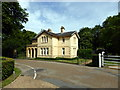 SZ5194 : Lodge at Prince of Wales Entrance to Osborne House by PAUL FARMER