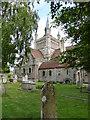 SZ5193 : St Mildred's Church, Whippingham by PAUL FARMER