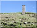 SK0069 : Dane Bower Colliery Chimney by Stephen Burton