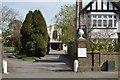 TQ5841 : Masonic Hall off St John's Rd by N Chadwick