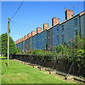 SK5740 : Promenade and Victoria Park railings by John Sutton
