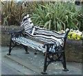 SP9211 : Tring - 700th anniversary yarn bombing - zebra by Rob Farrow