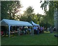 SP9211 : Tring - 700th anniversary - stalls in the churchyard by Rob Farrow