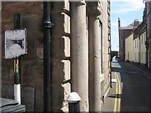 NU0052 : Low headroom pre-Worboys road sign by M J Richardson
