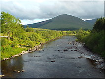 NN2939 : River Orchy at Bridge of Orchy by Malc McDonald